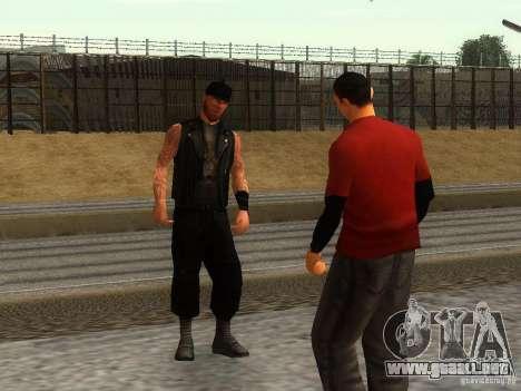 La escuela realista motociclistas v1.0 para GTA San Andreas tercera pantalla