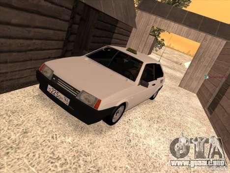 VAZ 2108 Taxi para GTA San Andreas