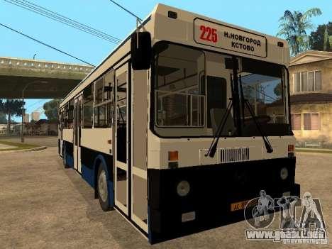 LIAZ 5256.00 para GTA San Andreas left