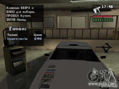 Ultra Elegy v1.0 para el motor de GTA San Andreas