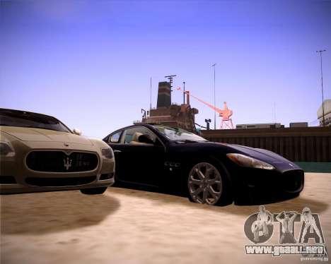 ENBseries by slavheg v2 para GTA San Andreas octavo de pantalla