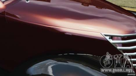 Walter Street Rod Custom Coupe para GTA 4 interior