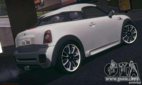 Mini Concept Coupe 2010 para la visión correcta GTA San Andreas