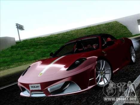 Ferrari F430 Scuderia Spider 16M para la visión correcta GTA San Andreas