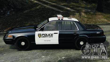 Ford Crown Victoria Police Interceptor 2003 LCPD para GTA 4 left