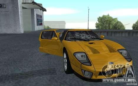 Ford GT 40 para GTA San Andreas left