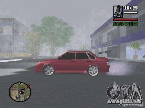 VAZ 2115 TUNING para GTA San Andreas left