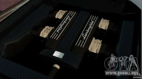 Lamborghini Murcielago LP670-4 SV [EPM] para GTA 4 vista interior