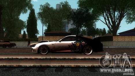 Toyota Supra RZ para GTA San Andreas left