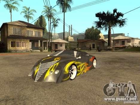 Thunderbold SlapJack para vista lateral GTA San Andreas