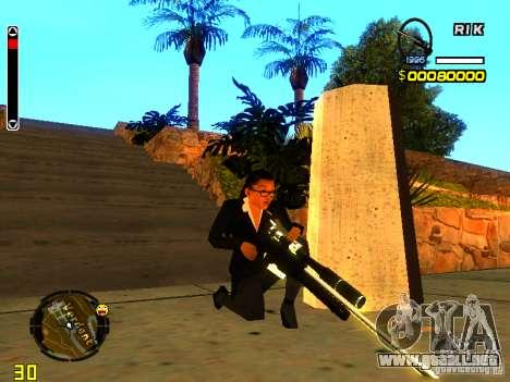 New AWP para GTA San Andreas segunda pantalla