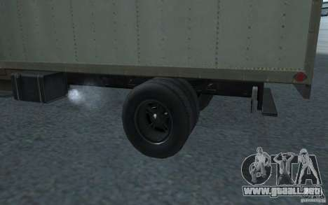 International Harvester Loadstar 1970 para GTA San Andreas vista posterior izquierda