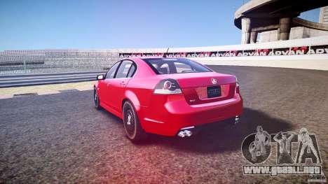 Holden Commodore (CIVIL) para GTA 4 vista superior