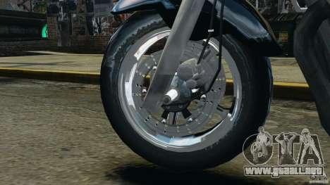 Kawasaki Zephyr para GTA 4 vista interior