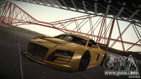 Audi R8 LMS para GTA San Andreas