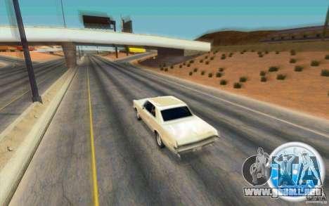 CraZZZy Speedometer v.2.1 Lite para GTA San Andreas segunda pantalla