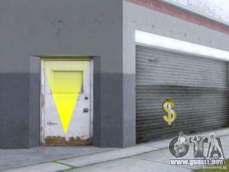 Negocio Cj v2.0 para GTA San Andreas segunda pantalla