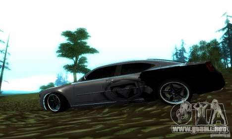 Dodge Charger SRT8 Mopar para GTA San Andreas left