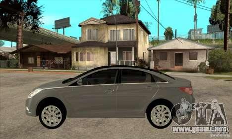 Hyundai Sonata 2011 para GTA San Andreas left