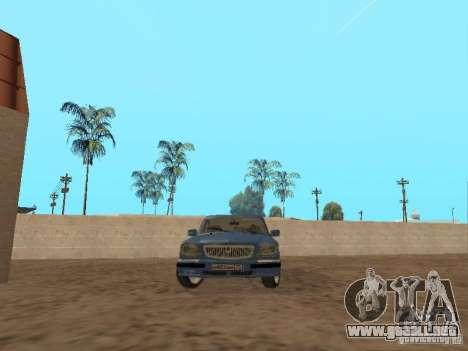 GAZ Volga 31105 para GTA San Andreas left
