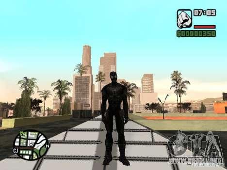 Enemigo del hombre araña en la reflexión para GTA San Andreas tercera pantalla