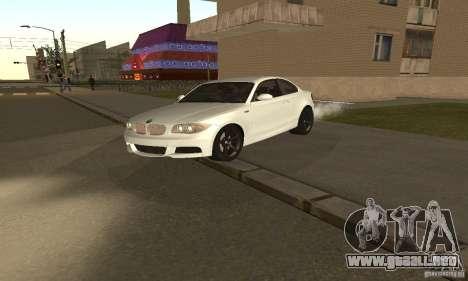 BMW 135i Coupé para GTA San Andreas left