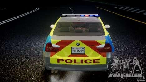 BMW 350i Indonesian Police Car [ELS] para GTA 4 ruedas