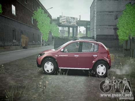 Dacia Sandero Stepway para GTA 4 left