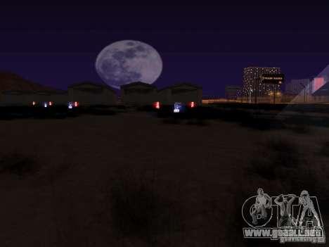 Luces de tráfico ferroviario para GTA San Andreas quinta pantalla