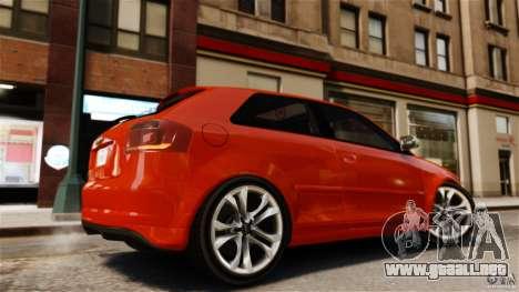 Audi S3 2010 v1.0 para GTA 4 left