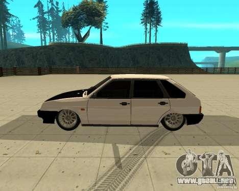 Vaz 2109 para GTA San Andreas left