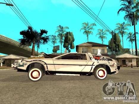 DeLorean DMC-12 para GTA San Andreas left