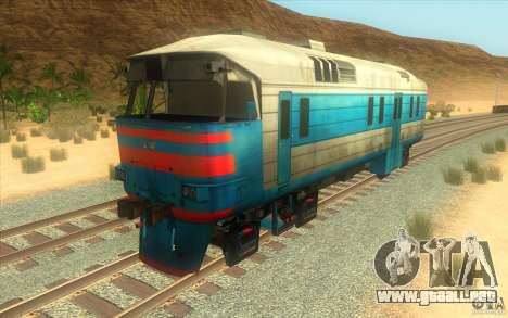 Un tren del juego Half-Life 2 para GTA San Andreas left