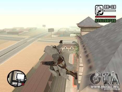 La capacidad de los Assassins Creed para GTA San Andreas segunda pantalla