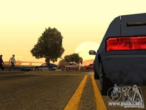 Cámara móvil gratis para GTA San Andreas quinta pantalla