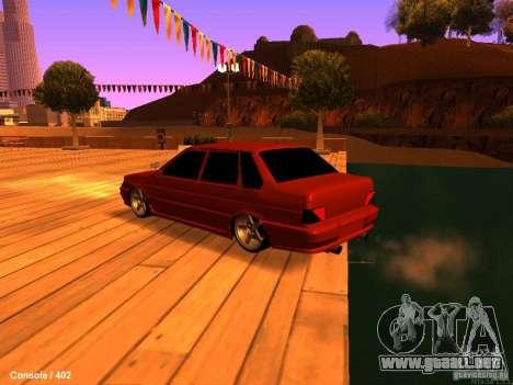 VAZ 2115 para GTA San Andreas left