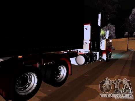 Peterbilt 389 Custom 2009 para GTA San Andreas left
