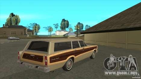 Ford Country Squire 1966 para la visión correcta GTA San Andreas