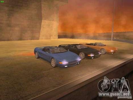 Infernus Revolution para GTA San Andreas vista hacia atrás