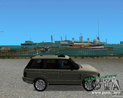 Rang Rover 2010 para GTA Vice City visión correcta