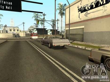 GFX Mod para GTA San Andreas octavo de pantalla