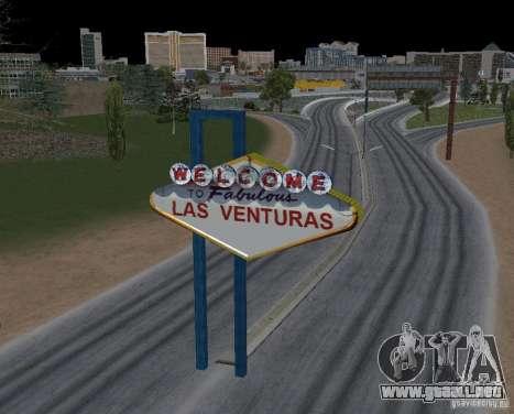 Real New Vegas v1 para GTA San Andreas tercera pantalla