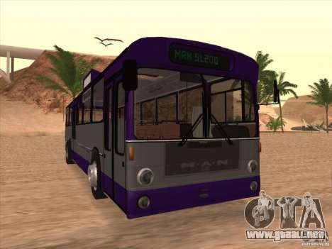 MAN SL200 Exclusive v.1.00 para GTA San Andreas