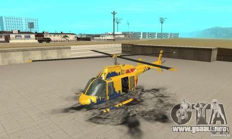 El helicóptero de consejos de gta 4 para GTA San Andreas