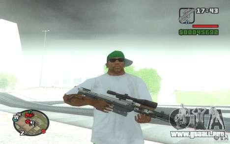 Un rifle de francotirador desde un Ballad of Gay para GTA San Andreas