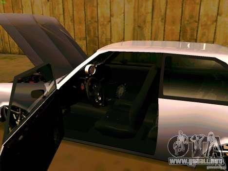 Chevrolet Chevette 1976 TDW Edit para GTA San Andreas vista hacia atrás