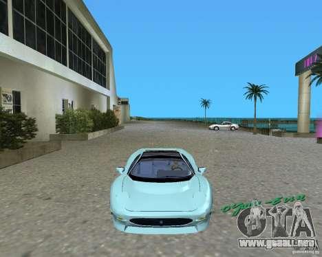 Jaguar XJ220 para GTA Vice City left