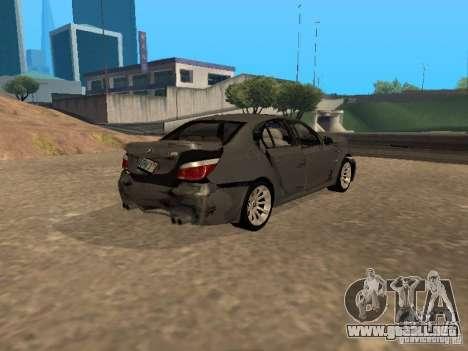 BMW M5 E60 2009 v2 para GTA San Andreas