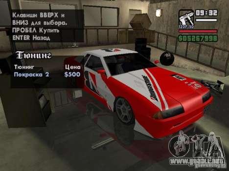 Ultra Elegy v1.0 para visión interna GTA San Andreas