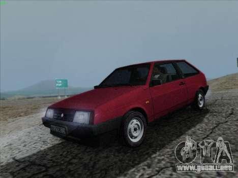 VAZ 21083i para la visión correcta GTA San Andreas
